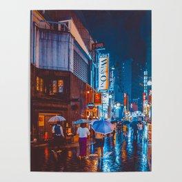 Tokyo Nightlife Poster