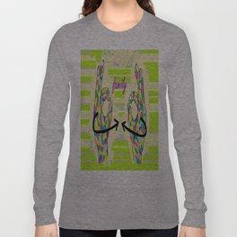 American Sign Language FAMILY Long Sleeve T-shirt