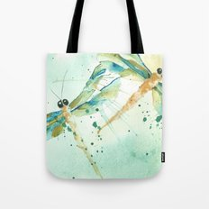 Dragon fly love Tote Bag