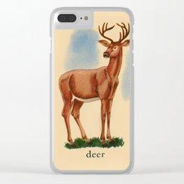 Deer me... Clear iPhone Case