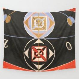 """Hilma af Klint """"Evolution, No. 16, Group VI"""" Wall Tapestry"""