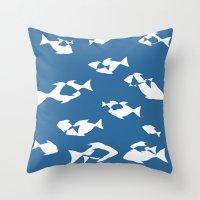 finding nemo Throw Pillows featuring Finding Nemo by Citron Vert