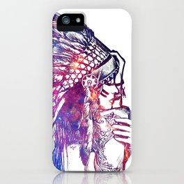 Space Indian iPhone Case