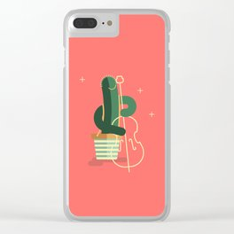 CACTUS BAND / The Contrabass Clear iPhone Case
