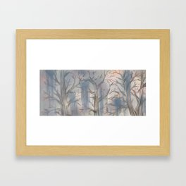 Dream of Spring to Come Framed Art Print