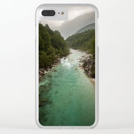 Wild Slovenia Clear iPhone Case