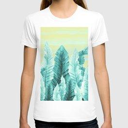 Underwater Leaves Vibes #3 #decor #art #society6 T-shirt