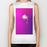 jelly fish Biker Tanks featuring Jelly by Argi Univrs