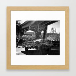 varrio logan impala Framed Art Print