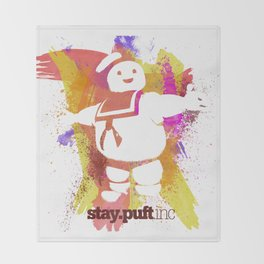 stay.puft.inc Throw Blanket