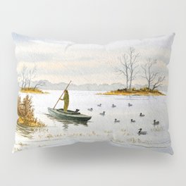 Duck Hunting - The Island Duck Blind Pillow Sham