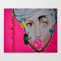 artrave Canvas Prints featuring artRAVE by Sabino Martinez