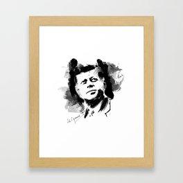 John F. Kennedy JFK Framed Art Print