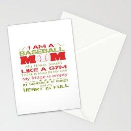 BASEBALL MOM Stationery Cards