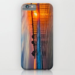 HB Sunsets - Sunset At The Huntington Beach Pier 3/10/16 iPhone Case