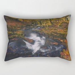 The Golden Carpets Rectangular Pillow