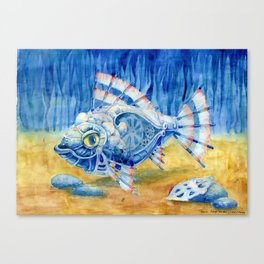 Iron Fish Canvas Print