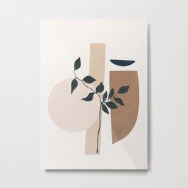 Minimal Shapes No.52 Metal Print