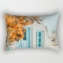 Greece Airbnb #photography #greece #travel Rectangular Pillow