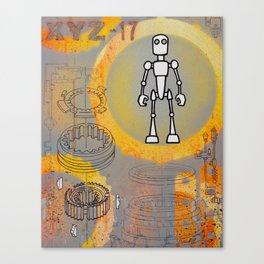 XYZ17 Canvas Print