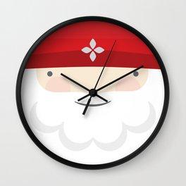 Santa IV Wall Clock
