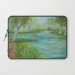 Little Manistee River MM120824a Laptop Sleeve