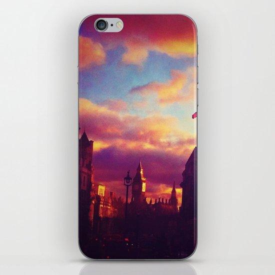 London Sunset iPhone & iPod Skin
