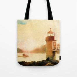 A Day In Maine Tote Bag