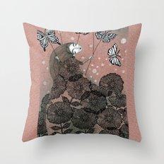 Night Garden (1) Throw Pillow