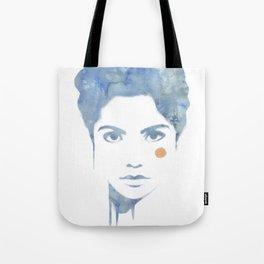 Blue & Orange Tote Bag