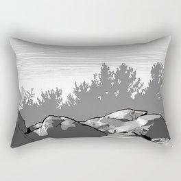 Summit of Monument Mountain Rectangular Pillow