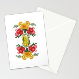 Birth Stone & Flower Print/NOVEMBER Stationery Cards