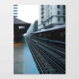Quincy Station Canvas Print
