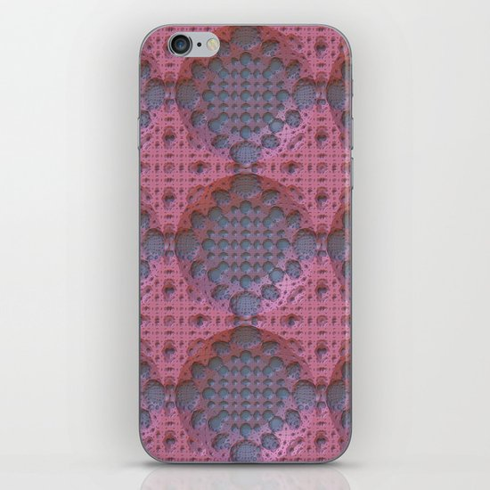Recessed Lace iPhone & iPod Skin