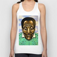 bill murray Tank Tops featuring Bill Cosby by Portraits on the Periphery