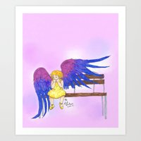 bisexual Art Prints featuring Bisexual by Jack Bockover
