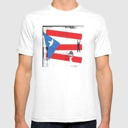 Juntos Levantemos a Puerto Rico T-shirt