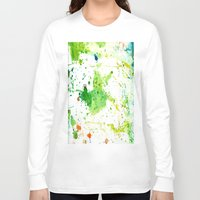 atlas Long Sleeve T-shirts featuring atlas by agnes Trachet