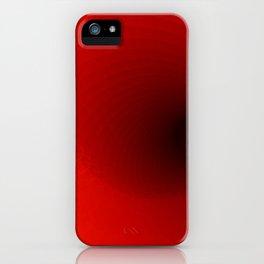 Orange clock iPhone Case