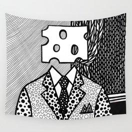 Roy Lichtenstein - Jobs... Not Cheese! Wall Tapestry