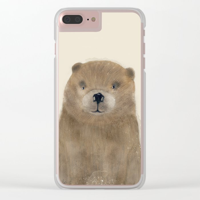 little beaver Clear iPhone Case