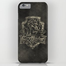 Gryffindor House iPhone Case