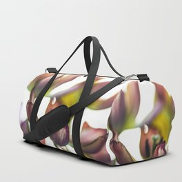 Tulips Reduced To Colores And Lights Duffle Bag