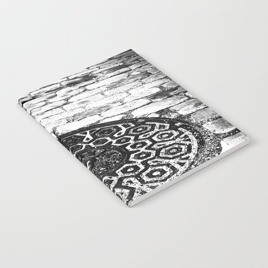 what lies beneath these streets of gold Notebook