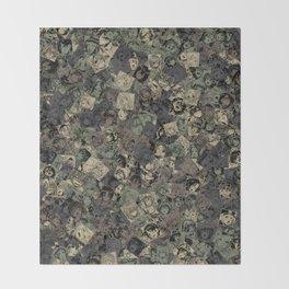 Ahegao camouflage Throw Blanket
