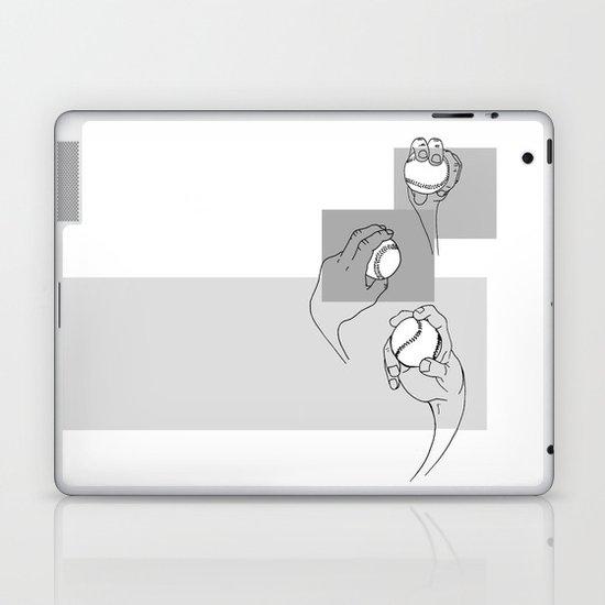Anatomy of a Baseball Pitch Laptop & iPad Skin
