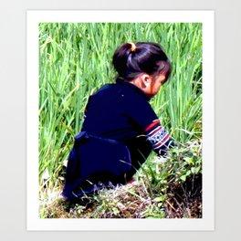 Vietnamese Girl Art Print