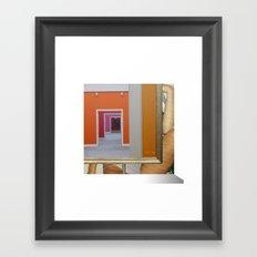 RahmenHandlung 6 Framed Art Print