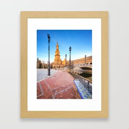 Plaza de España, Sevilla, Spain 4 Framed Art Print