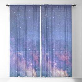 Starry Skies Sheer Curtain